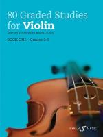 80 Graded Studies for Violin by Jessica O'Leary