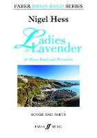 Ladies in Lavender - Theme: Brass Band Score and Parts by Nigel Hess