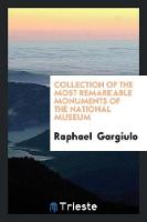 Collection of the Most Remarkable Monuments of the National Museum by Raphael Gargiulo
