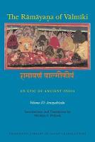The Ramayana of Valmiki: An Epic of Ancient India, Volume III Aranyakanda by Robert P. Goldman