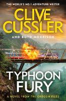 Typhoon Fury Oregon Files #12 by Clive Cussler, Boyd Morrison