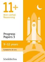 11+ Non-verbal Reasoning Progress Papers Book 3: KS2, Ages 9-12 by Schofield & Sims, Rebecca Brant