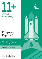 11+ Verbal Reasoning Progress Papers Book 3: KS2, Ages 9-12 by Schofield & Sims, Patrick Berry