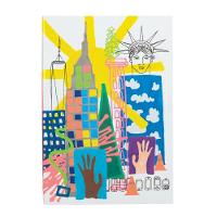 Nyc A5 Notebook by Galison, Christian Lacroix