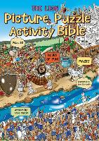 The Lion Picture Puzzle Bible Colouring and Activity Book by Peter Martin