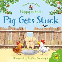 Pig Gets Stuck Sticker Book by