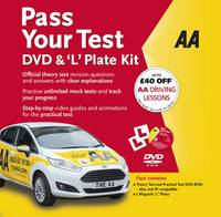 Pass Your Test & 'L' Plate Kit by AA Publishing