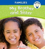 Popcorn: Families: My Brother and Sister by Katie Dicker