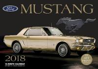Ford Mustang 2018 16 Month Calendar Includes September 2017 Through December 2018 by