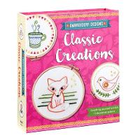 Embroidery Designs Classic Creations Everything You Need to Stitch 12 Decorative Patterns by Kelly Fletcher