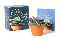 The Felt Succulent Crafting Kit by Nicole Miyuki Santo