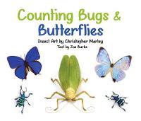 Counting Bugs & Butterflies Insect Art by Christopher Marley Board Book by Zoe Burke