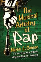 The Musical Artistry of Rap by Martin Connor
