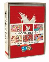 Kimono Note Cards 6 Blank Note Cards & Envelopes (6 x 4 inch cards in a box) by Tuttle Editors