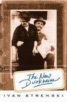 The New Durkheim by Ivan Strenski