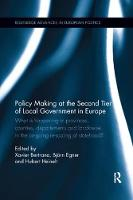 Policy Making at the Second Tier of Local Government in Europe What is happening in Provinces, Counties, Departements and Landkreise in the on-going re-scaling of statehood? by Xavier (Centre for Local Innovation at the Diputacio de Barcelona, and University of Barcelona) Bertrana