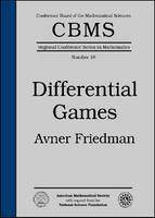 Differential Games by Avner Friedman