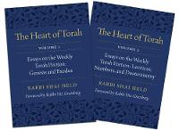 The Heart of Torah, Gift Set Essays on the Weekly Torah Portion by Shai Held, Yitz Greenberg
