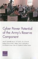 Cyber Power Potential of the Army's Reserve Component by Isaac R Porche