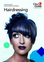 Level 2 Technical Certificate in Hairdressing: Learner Journal by