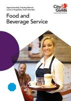 Level 2 Hospitality Team Member - Food and Beverage Service: Apprenticeship Training Manual by Miriam Garstang