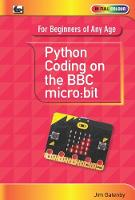 Python Coding on the BBC Micro:Bit by Jim Gatenby