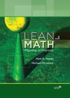 Lean Math Figuring to Improve by Mark Hamel, Michael O'Connor