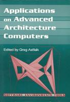 Applications on Advanced Architecture Computers by Greg Astfalk