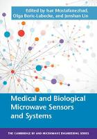 Medical and Biological Microwave Sensors and Systems by Isar Mostafanezhad