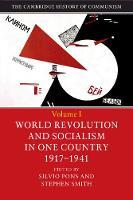 The Cambridge History of Communism by Silvio (Universit... degli Studi di Roma 'Tor Vergata') Pons