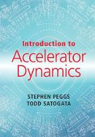 Introduction to Accelerator Dynamics by Stephen (Brookhaven National Laboratory, New York) Peggs, Todd Satogata