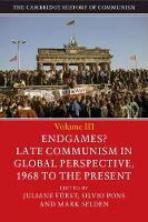 The Cambridge History of Communism by Juliane (University of Bristol) Furst