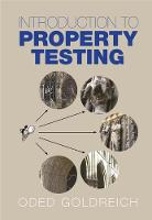Introduction to Property Testing by Oded (Weizmann Institute of Science, Israel) Goldreich