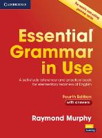 Essential Grammar in Use with Answers A Self-Study Reference and Practice Book for Elementary Learners of English by Raymond Murphy