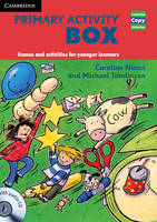 Primary Activity Box Book and Audio CD Games and Activities for Younger Learners by Caroline Nixon, Michael Tomlinson