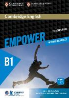 Cambridge English Empower Pre-Intermediate/B1 Student's Book with Online Assessment and Practice, and Online Workbook Idiomas Catolica Edition Cambridge English Empower Pre-intermediate/B1 Student's B by Adrian Doff, Craig Thaine, Herbert Puchta, Jeff Stranks