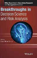 Breakthroughs in Decision Science and Risk Analysis by Louis Anthony, Jr. Cox