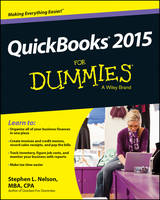 QuickBooks 2015 For Dummies by Stephen L. Nelson