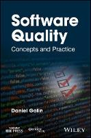 Software Quality Concepts and Practice by Daniel Galin
