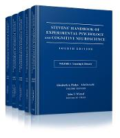 Stevens' Handbook of Experimental Psychology and Cognitive Neuroscience Stevens' Handbook of Experimental Psychology and C ognitive Neuroscience, Fourth Edition, Five Volume SET by John Timothy Wixted