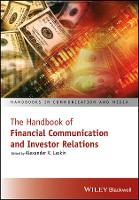 The Handbook of Financial Communication and Investor Relations by Alexander V. Laskin