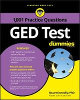 1,001 GED Practice Questions For Dummies by Consumer Dummies