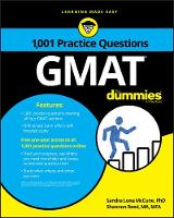 1,001 GMAT Practice Questions For Dummies by Consumer Dummies
