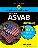 2017/2018 ASVAB For Dummies with Online Practice by Rod Powers, Angie Papple Johnston