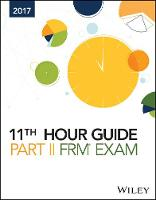 Wiley 11th Hour Guide for 2017 FRM Exam by Wiley