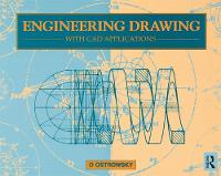 Engineering Drawing with CAD Applications by O. Ostrowsky