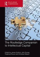The Routledge Companion to Intellectual Capital by James Guthrie
