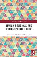 Jewish Religious and Philosophical Ethics by Curtis Hutt