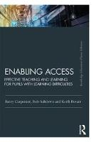 Enabling Access Effective Teaching and Learning for Pupils with Learning Difficulties by Barry, OBE Carpenter