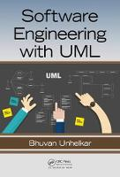 Software Engineering with UML by Bhuvan (Consultant, Wahroonga, Australia) Unhelkar